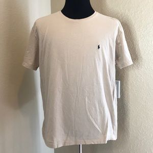Polo by Ralph Lauren   Nude Branded Tee L